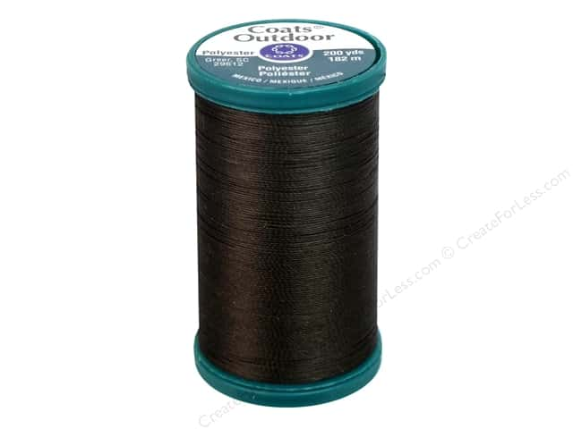 Coats Outdoor Living Thread 200 yd. #50 Dark Brown