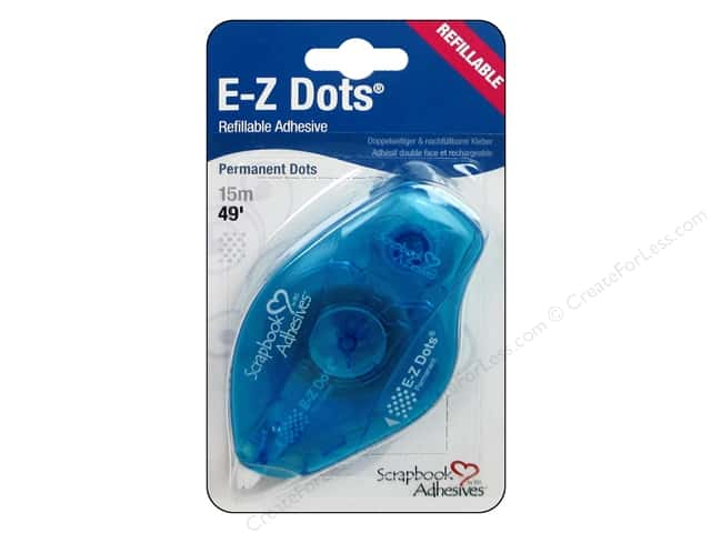3L Scrapbook Adhesives E-Z Dots 49 ft. Permanent Refillable