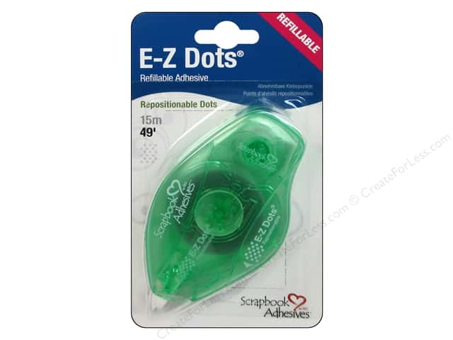 3L Scrapbook Adhesives E-Z Dots 49 ft. Repositionable Refillable