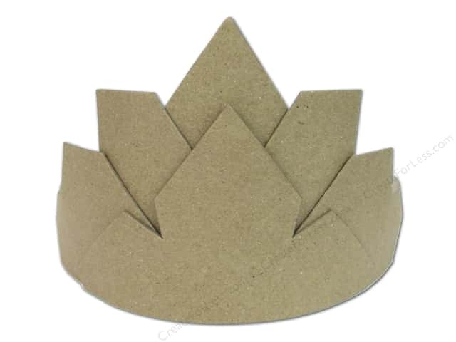 Paper Mache Crown Large by Craft Pedlers