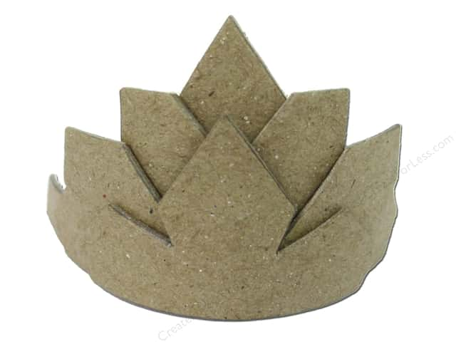 Paper Mache Crown Small by Craft Pedlers