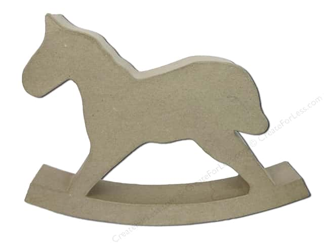 Paper Mache Rocking Horse by Craft Pedlars