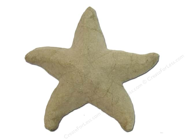 Paper Mache Starfish Small by Craft Pedlers