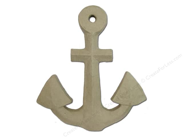 Paper Mache Anchor by Craft Pedlers
