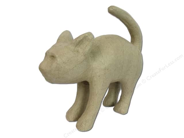 PA Paper Mache Scary Cat 10 in.