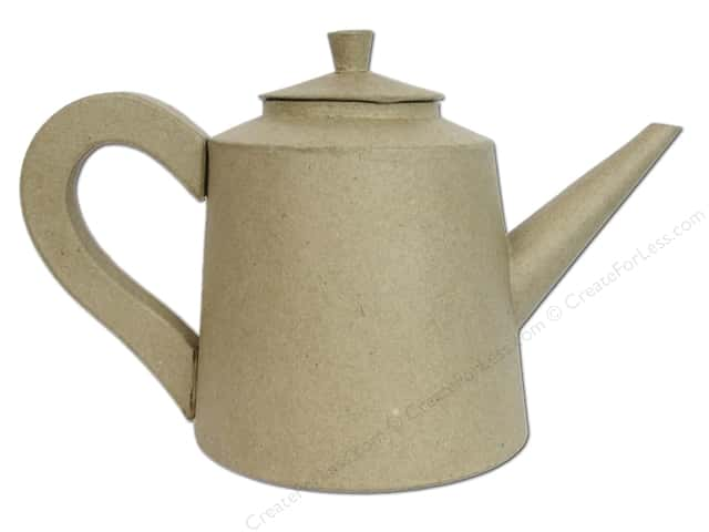 Paper Mache Tea Kettle by Craft Pedlers