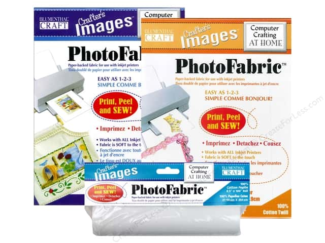 Blumenthal Crafter's Images Photo Fabric