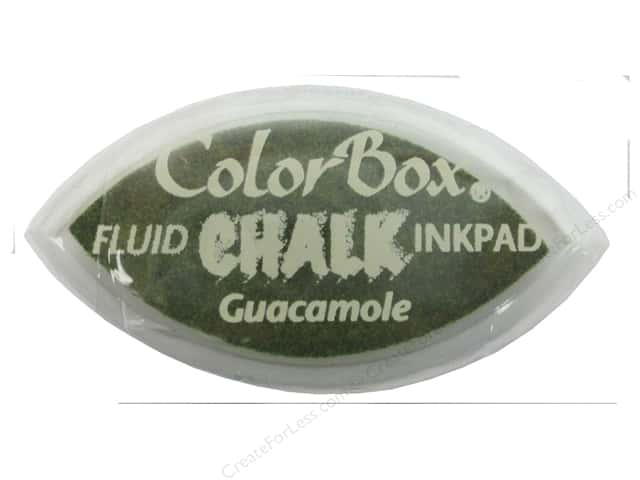 ColorBox Fluid Chalk Ink Pad Cat's Eye Guacamole