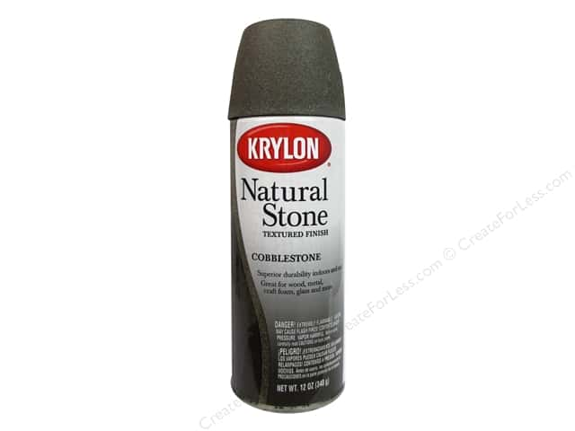 Krylon Natural Stone Paint 12 oz. Cobblestone