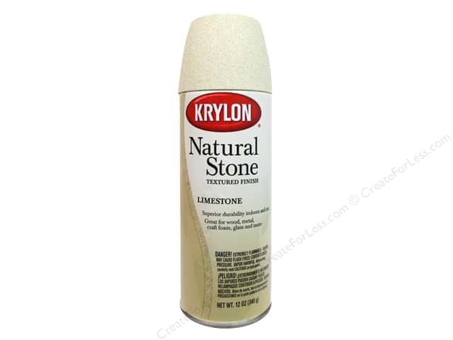 Krylon Natural Stone Paint 12 oz. Limestone