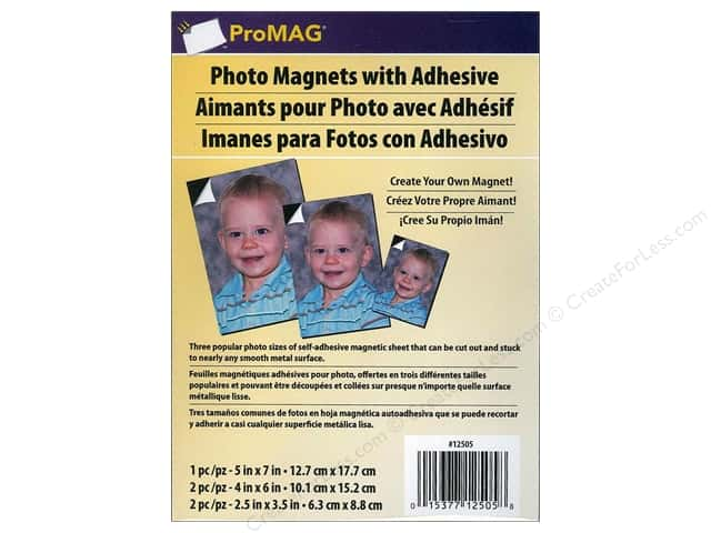 ProMag Magnet Photo Adhesive Variety Pack 5pc