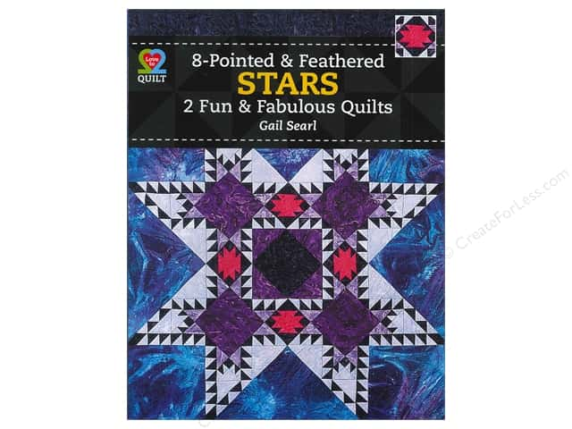 American Quilter's Society Eight-Pointed & Feathered Stars Book by Gail Searl