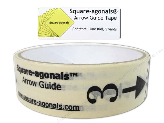 Square-agonals Arrow Guide Tape 5 yd.