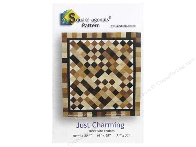 Square-agonals Just Charming Pattern by Sandi Blackwell