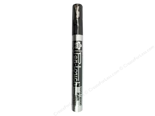 Sakura Pen-Touch Paint Marker Medium Tip Silver