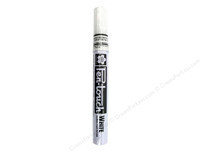 Sakura Pen-Touch Paint Marker Medium Tip White