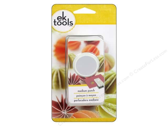 EK Paper Shapers Medium Punch Circle 1 in.