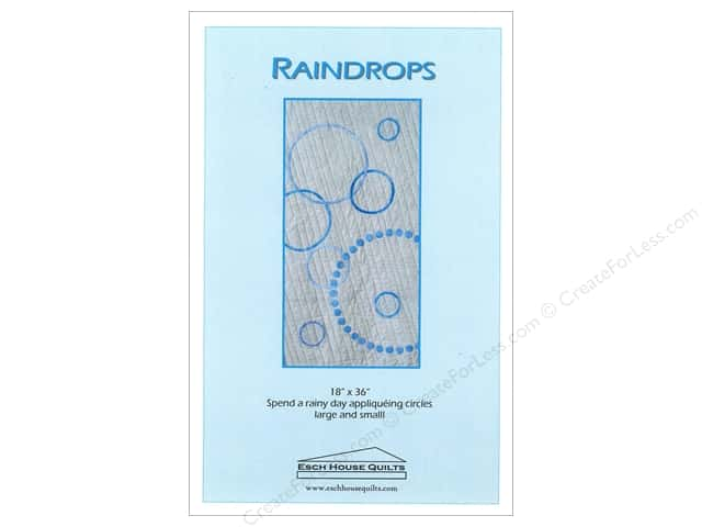 Esch House Quilts Raindrops Pattern