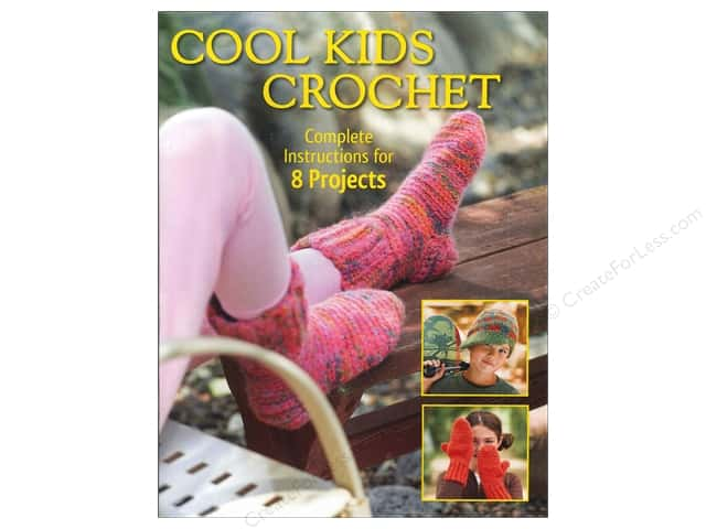 Creative Publishing Cool Kids Crochet Book by Sharon Mann, Phyllis Sandford and Margaret Hubert