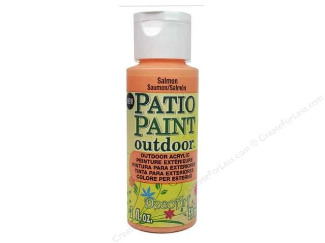 DecoArt Patio Paint Outdoor Acrylic Paint 2 oz. #83 Salmon
