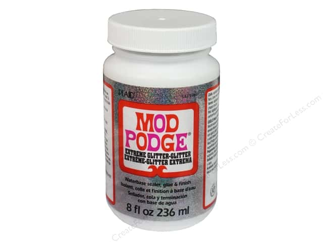 Plaid Mod Podge 8 oz. Extreme Glitter