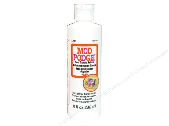Plaid Mod Podge Photo Transfer Medium 8oz