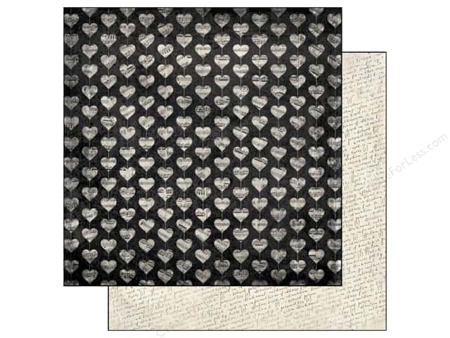 Authentique 12 x 12 in. Paper Irresistible Passion (25 sheets)