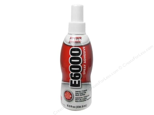 Eclectic Adhesive E6000 Spray 8oz