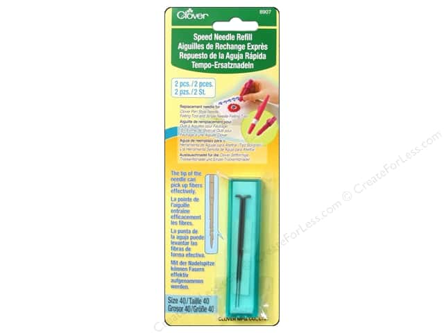 Clover Needle Felting Speed Needle Refill 2 pc.