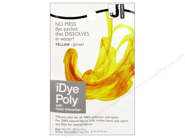 Jacquard iDye Poly Yellow