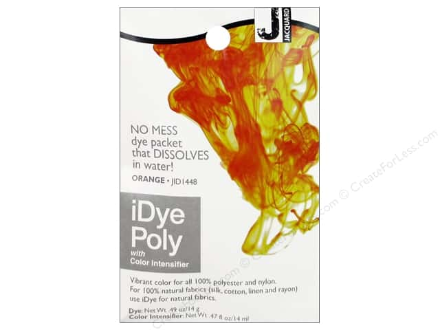 Jacquard iDye Poly Orange