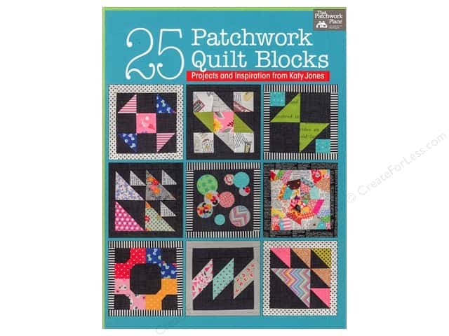 That Patchwork Place 25 Patchwork Quilt Blocks Book by Katy Jones