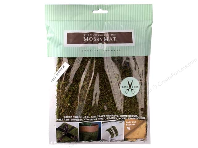 Quality Growers Moss MossyMat Peel & Stick Sheet 16 x 18 in.