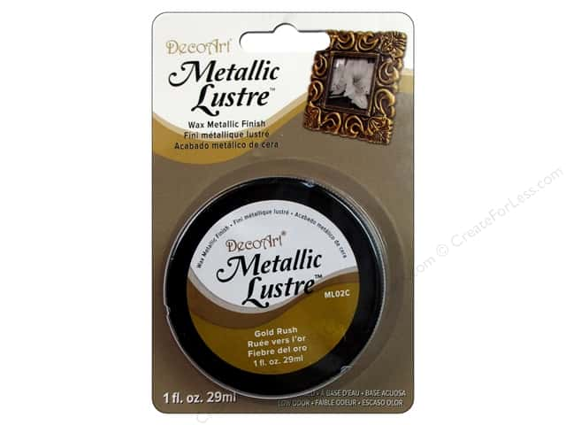 DecoArt Metallic Lustre - Gold Rush 1 oz.