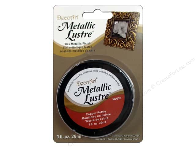 DecoArt Metallic Lustre - Copper Kettle 1 oz.