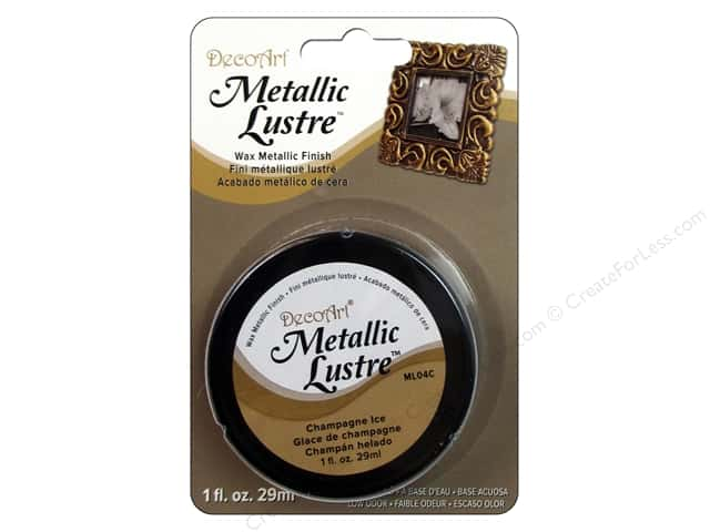 DecoArt Metallic Lustre - Champagne Ice 1 oz.