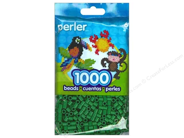 Perler Bead 1000 pc. Dark Green