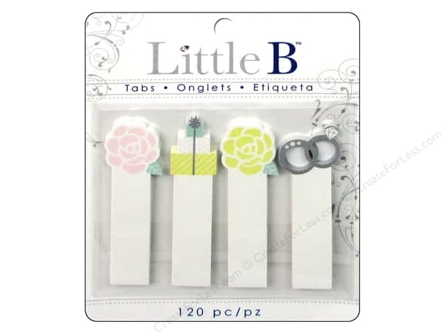 Little B Adhesive Tabs Wedding