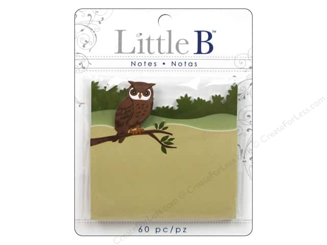Little B Adhesive Notes Notes Owl