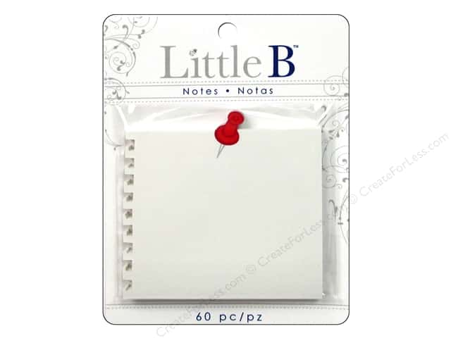 Little B Adhesive Notes Push Pin