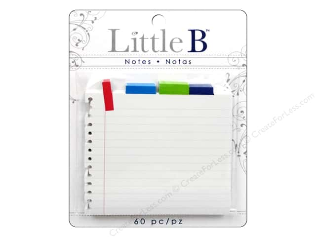 Little B Adhesive Notes Notebook