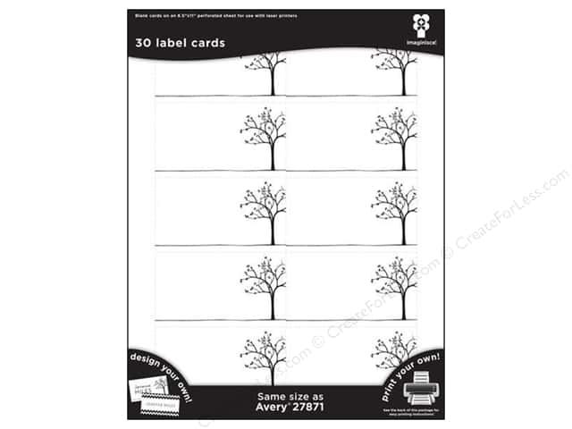 Imaginisce Cards Black Ice Tree Line 3 pc