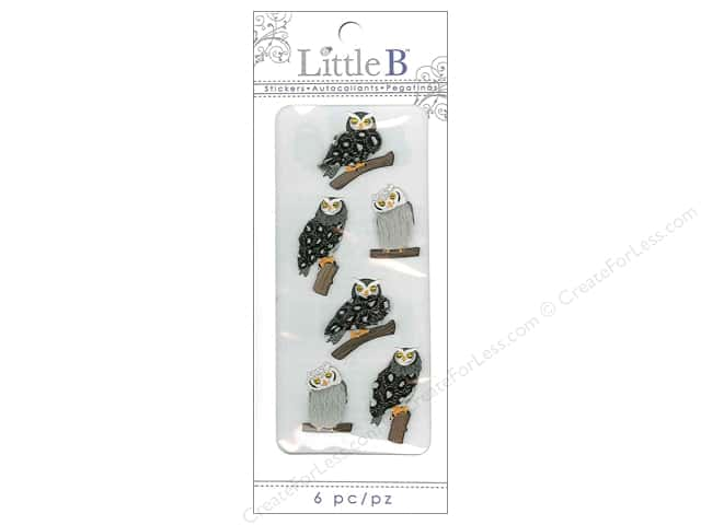 Little B Sticker Mini Owls