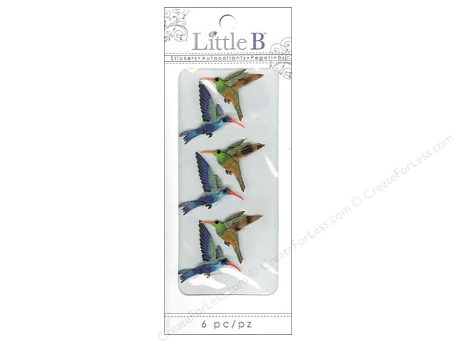 Little B Sticker Mini Hummingbirds