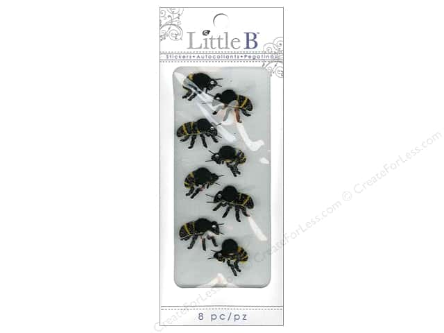 Little B Sticker Mini Bumble Bees