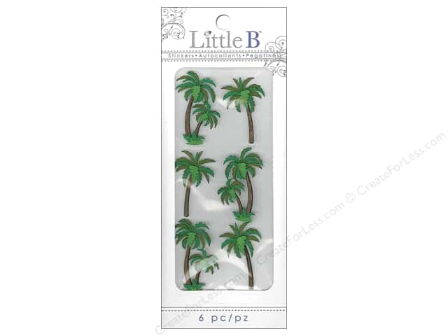 Little B Sticker Mini Palm Trees
