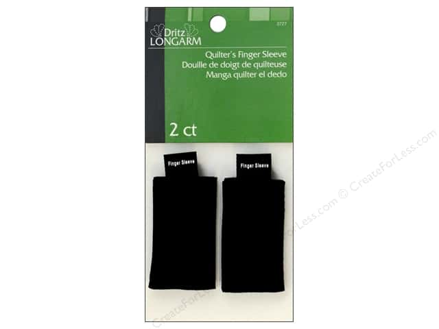 Quilter's Finger Sleeve by Dritz Longarm 2 pc.
