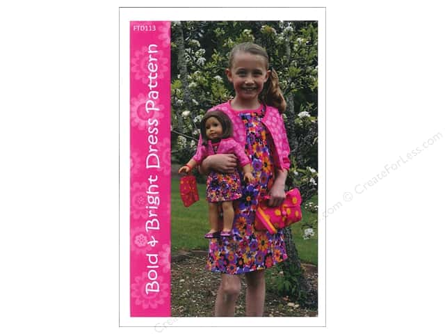Firetrail Designs Bold & Bright Dress Pattern