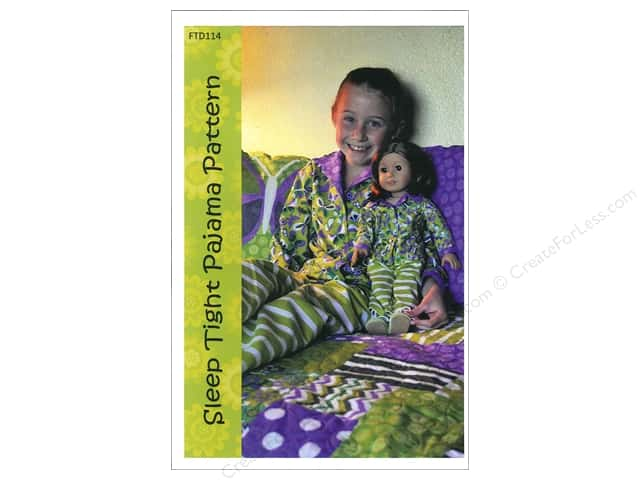 Firetrail Designs Sleep Tight Pajama Pattern