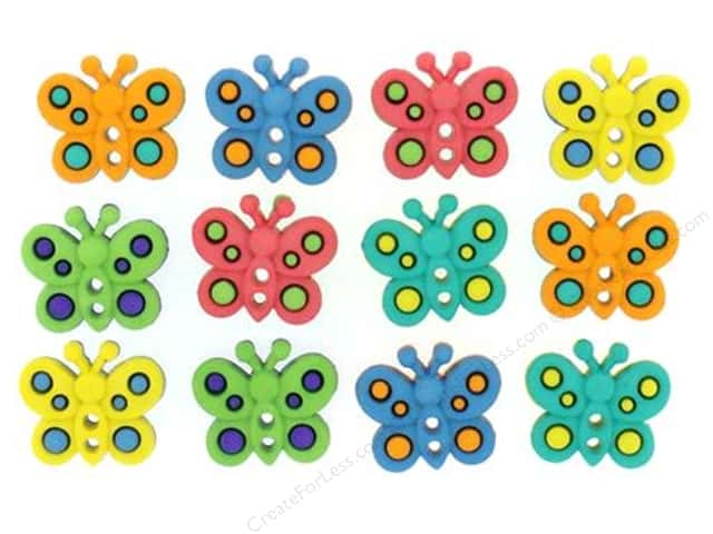 Jesse James Dress It Up Embellishments Sew Cute Butterflies
